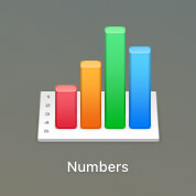MacのCSV編集ソフト「Number」