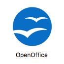 「OpenOfficeアイコン」をクリック