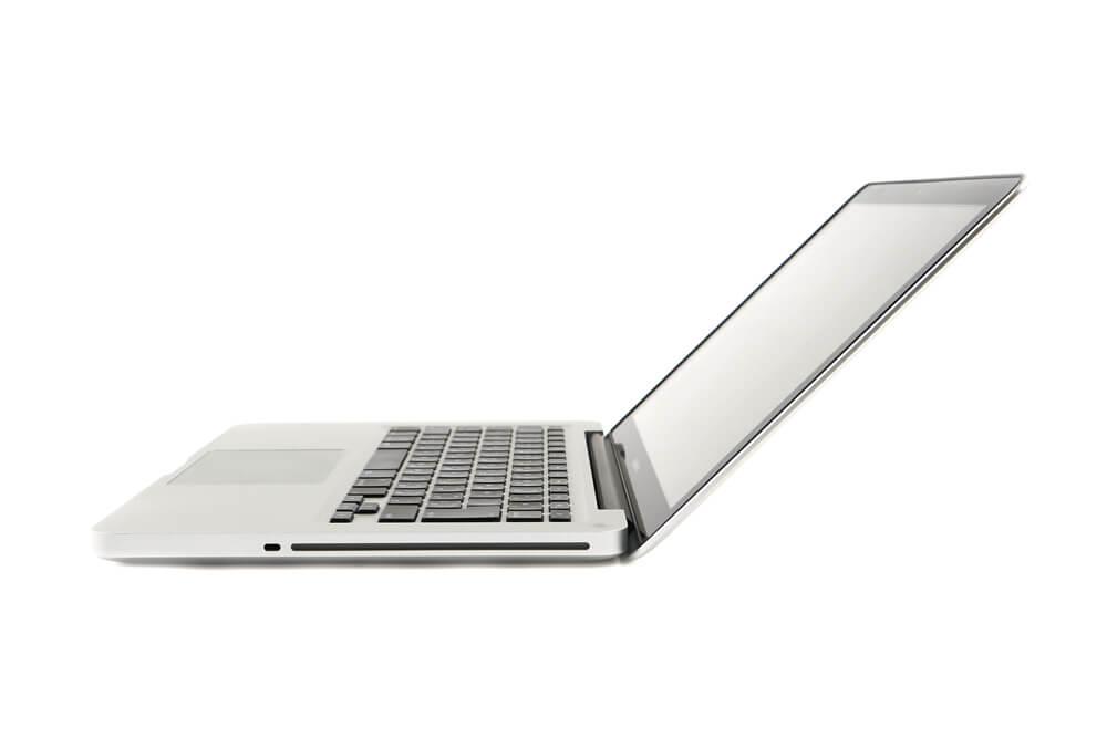 MacBook Pro側面135度画像