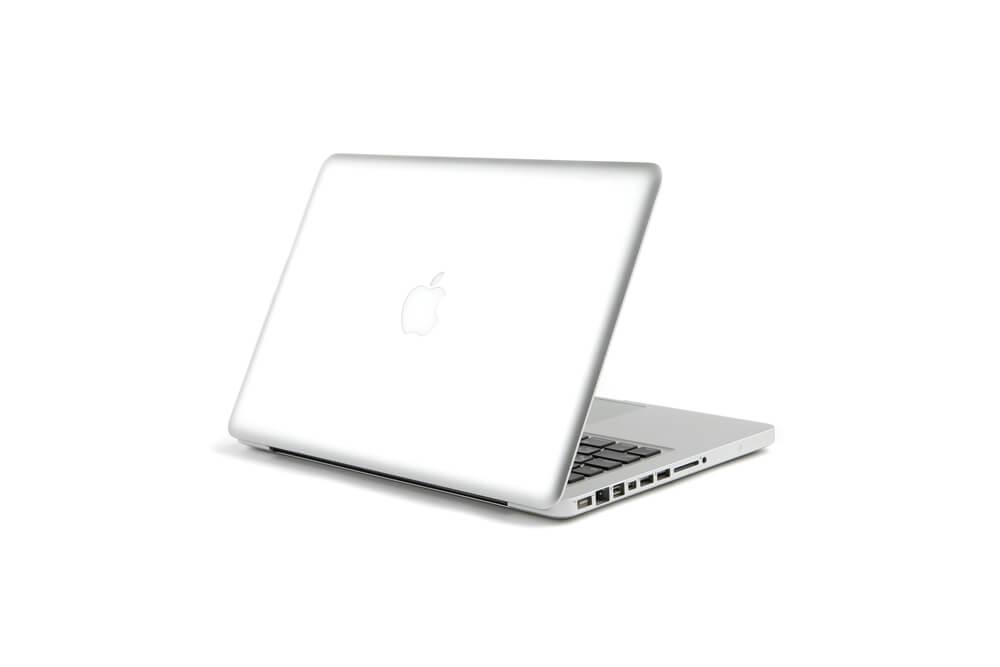 MacBook Pro背面立ち上げ画像2