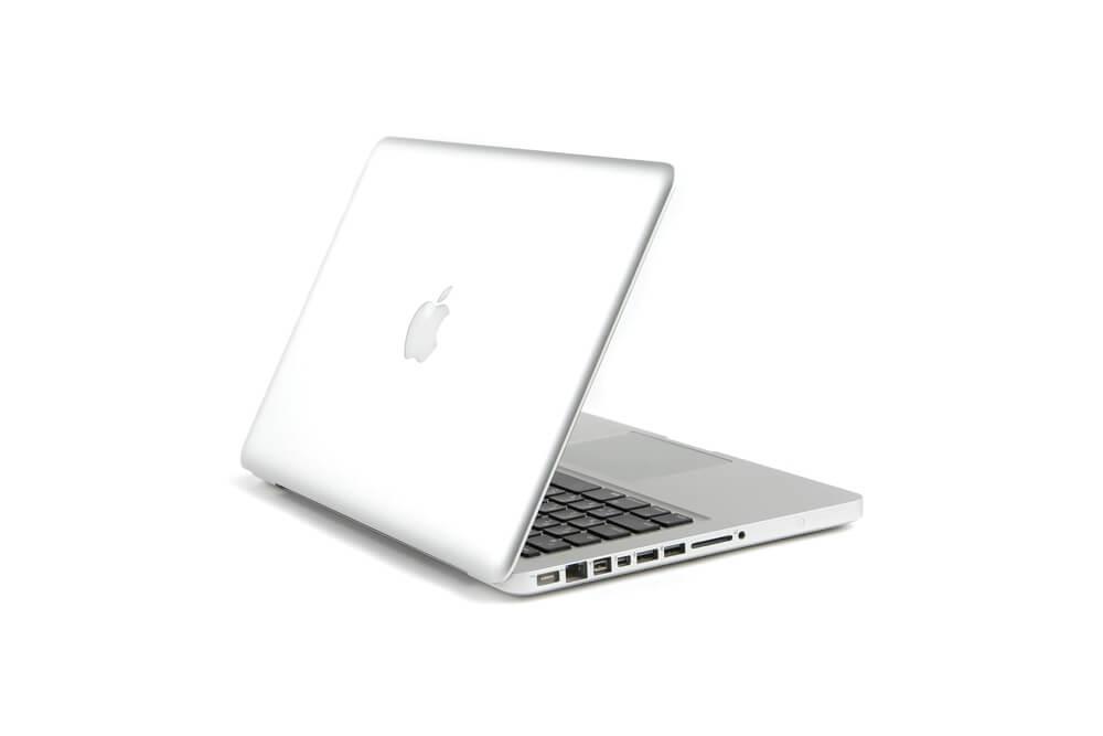 MacBook Pro背面立ち上げ画像3