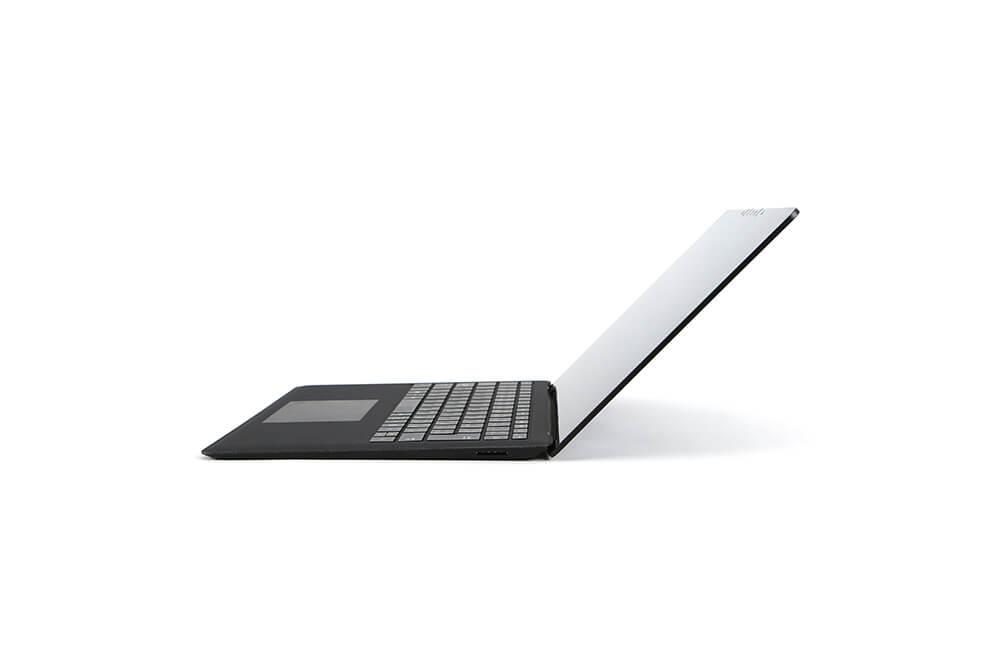 「Surface Laptop2」側面画像135度横