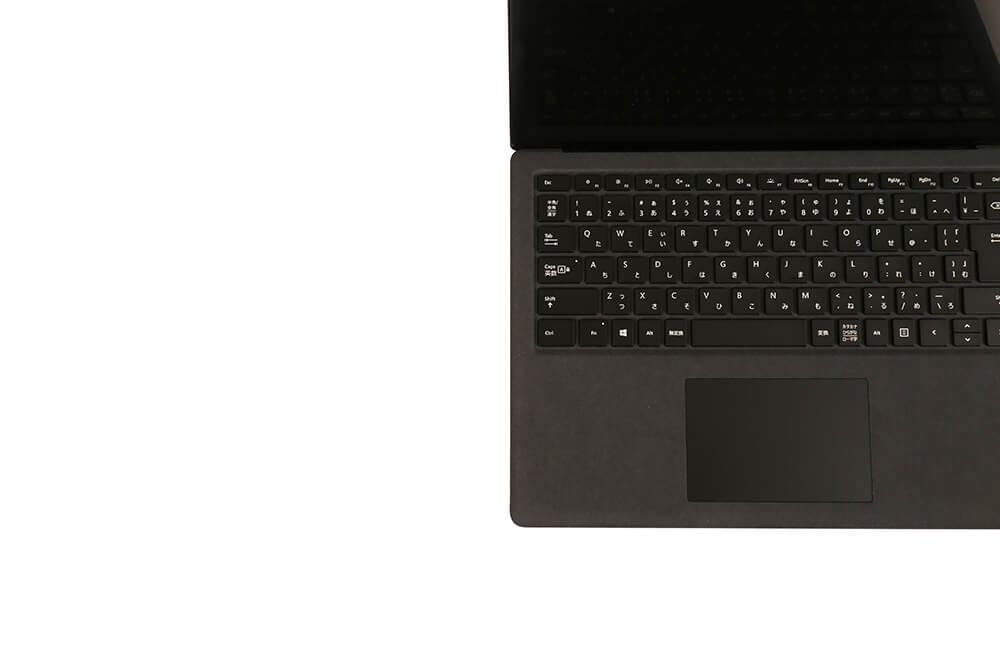 「Surface Laptop2」キーボード右アップ画像
