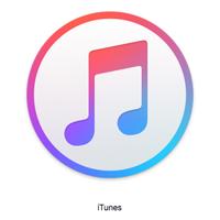 「iTunes」のアイコンをクリック