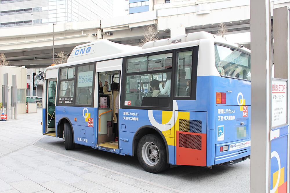 送迎バスがとっても便利!