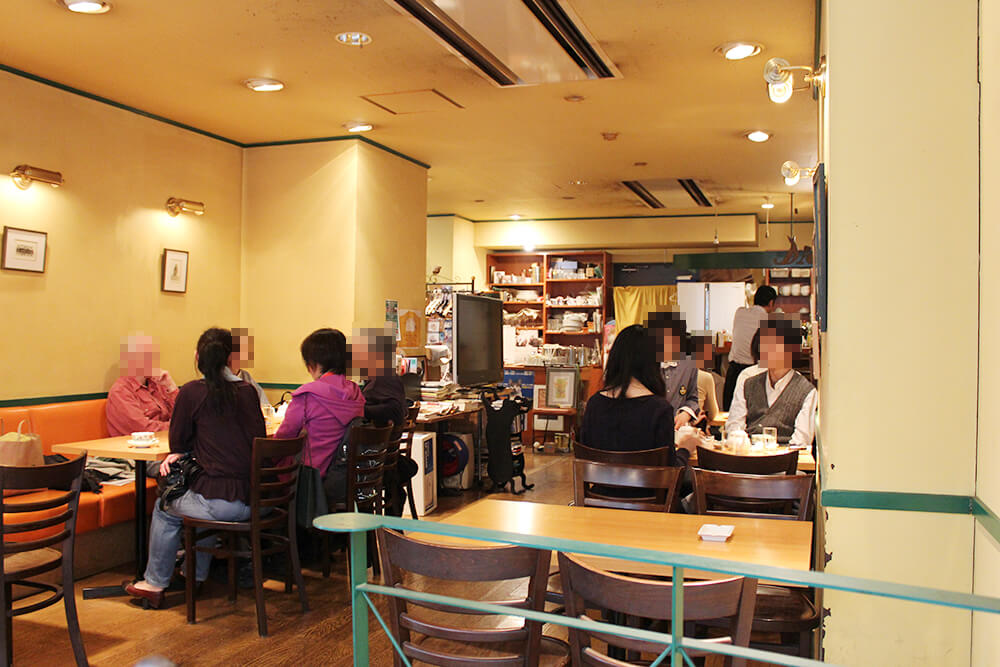 昔ながらの喫茶店といった雰囲気