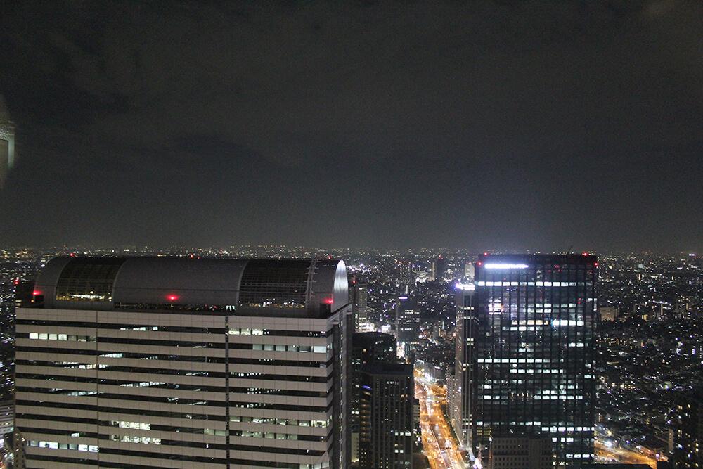 新宿の夜景は綺麗です!