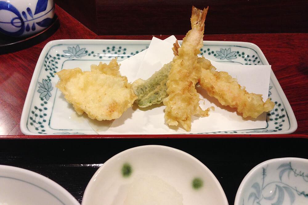 サクサクほくほくの天ぷら