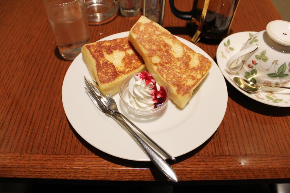 フレンチトーストセット 1,000円
