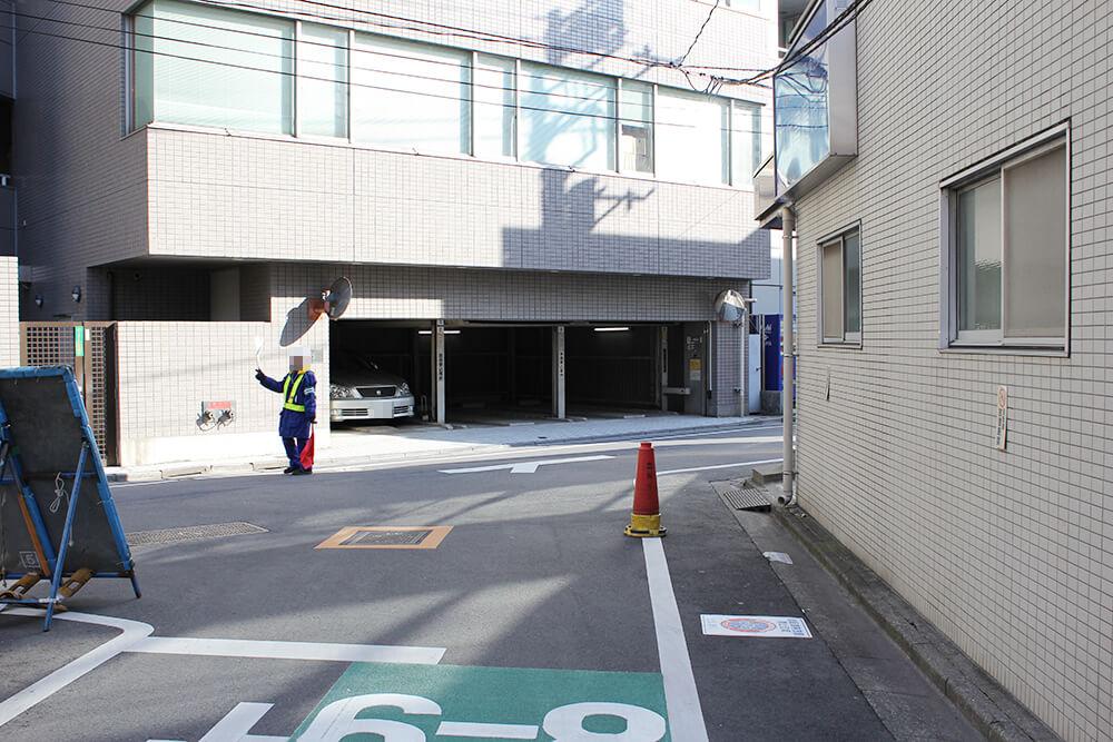 「平塚胃腸病院」のT字路を右へ