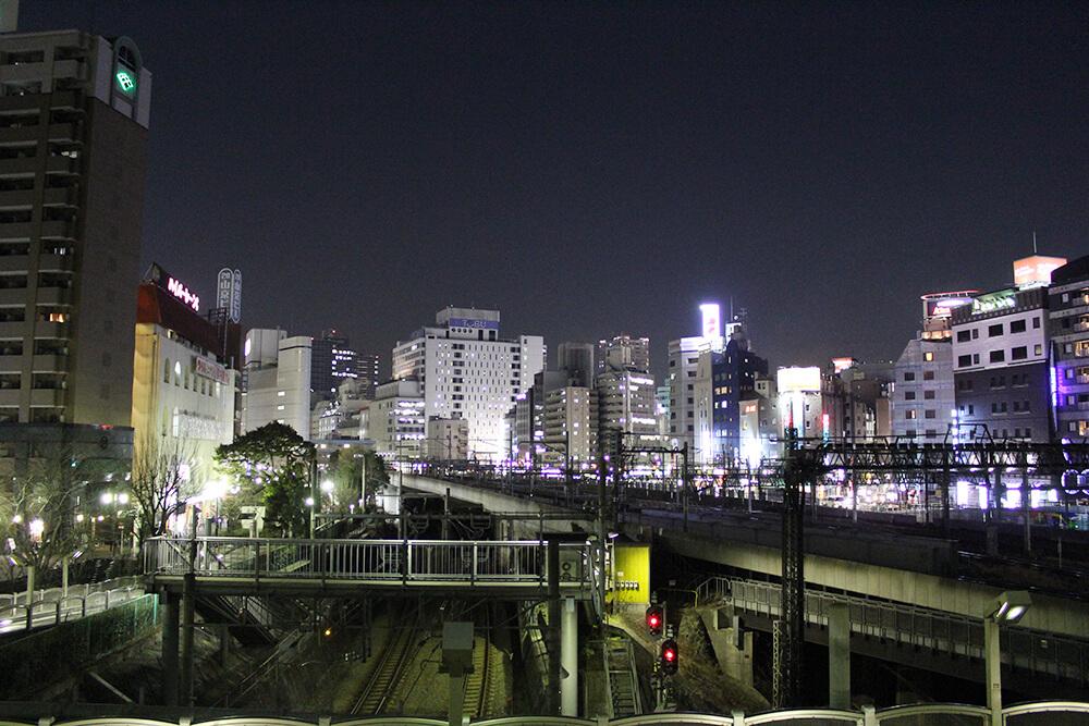 夜景がきれいな「池袋大橋」