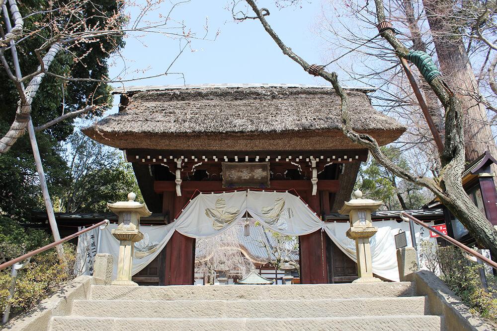 深大寺の入口