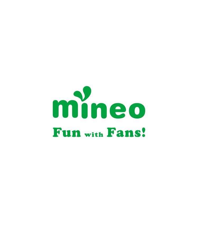 mineoのロゴが表示