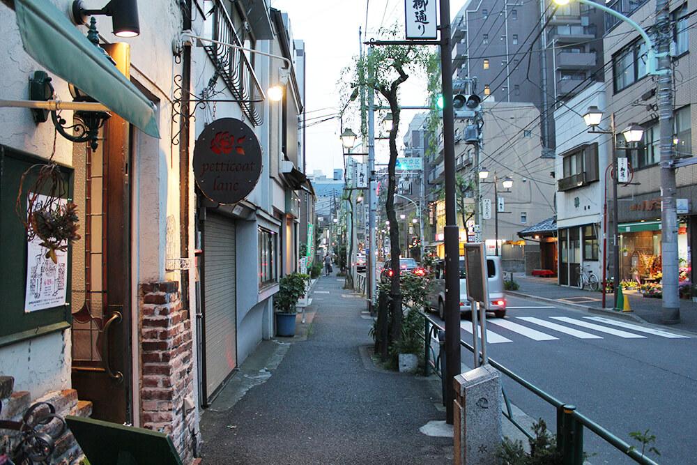 「千代田線千駄木駅」に戻ります
