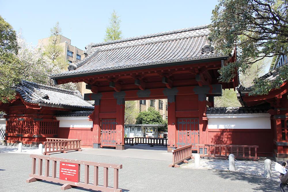 天下の東大「赤門」