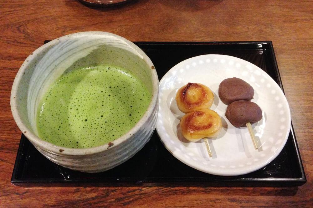 抹茶セット 683円