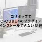 ロリポップでEC-CUBE4のプラグインをインストールできない問題
