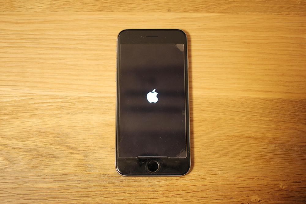 Appleのマークが表示