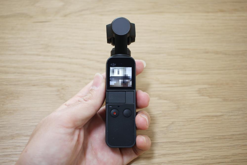DJI「Osmo Pocket」のサイズ感