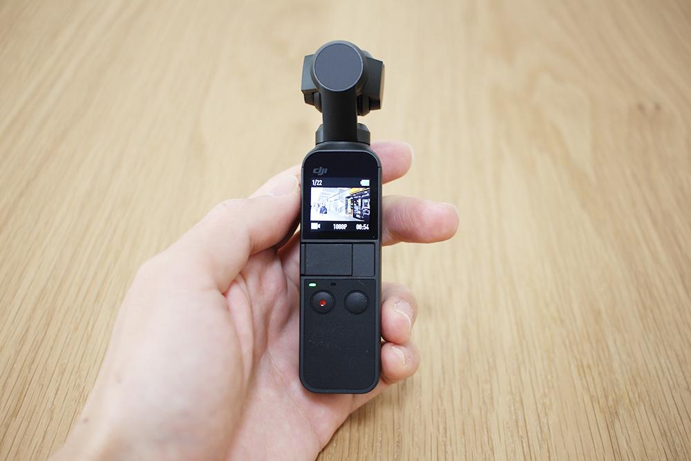 撮影した動画や画像を確認することができます